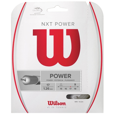 Wilson Nxt Power 17 Tennis String Set