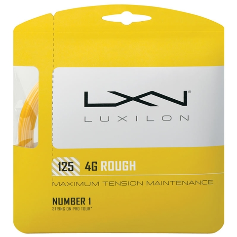 Luxilon 4g Rough 125 Tennis String Set