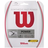 Wilson Synthetic Gut Power 16 Tennis String Set