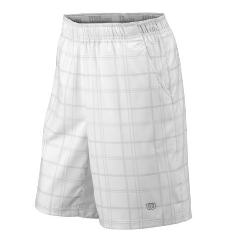 Wilson Rush Plaid 10 ' Men's Tennis Short