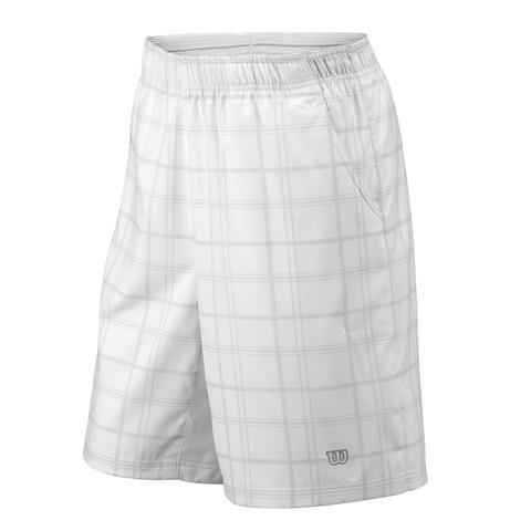 Wilson Rush Plaid 8 ' Tennis Boys Short
