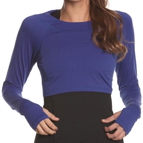 Bloq Uv Crop Top Women's Shirt
