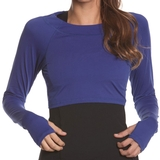 Bloq Uv Crop Top Women's Shirt