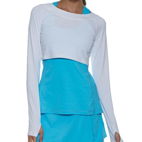 f501da9f747f7 Bloq UV Crop Top Women s Shirt. BLOQUV - Item  4001WH