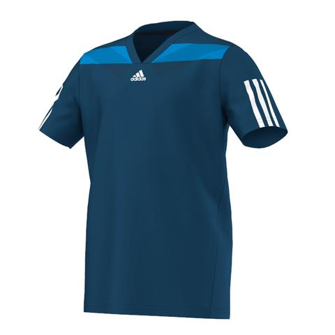 Adidas Adipower Barricade Semi Fit Boy's Tennis Tee