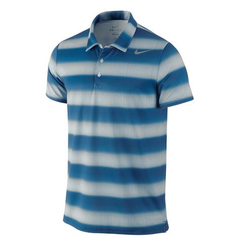 Nike Sphere Stripe Men's Tennis Polo