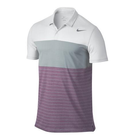 Nike Dri- Fit Touch Stripe Men's Tennis Polo