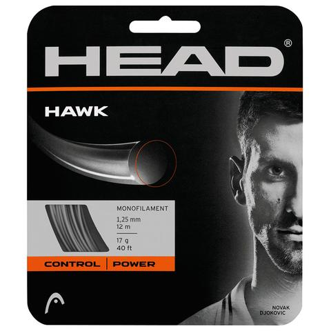 Head Hawk 17 Tennis String Set - Grey