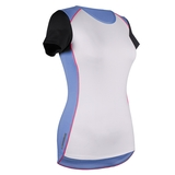 Tail Ability Cap Sleeve Women's Top