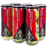 Dunlop Grand Prix All Surface 6 Can Pack Tennis Balls