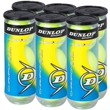 Dunlop Championship All Surface 6 Pack Can Tennis Balls