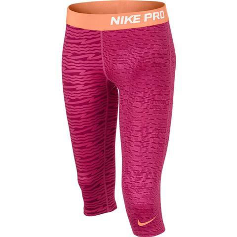 Nike Pro Gfx Girl's Tennis Capri