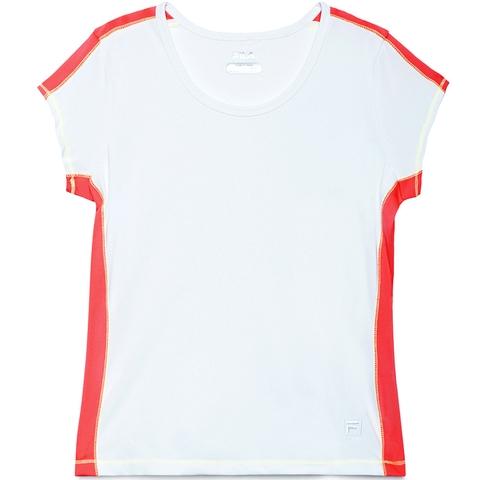 Fila Baseline Short Sleeve Girl's Tennis Tank