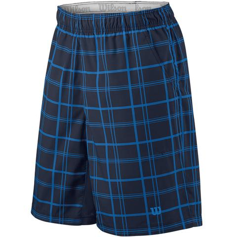 Wilson Rush Plaid 10 ' Men's Tennis Short