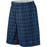 Wilson Rush Plaid 10' Men's Tennis Short