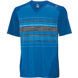 Wilson Specialist Stripe V-Neck Boy's Tennis Shirt