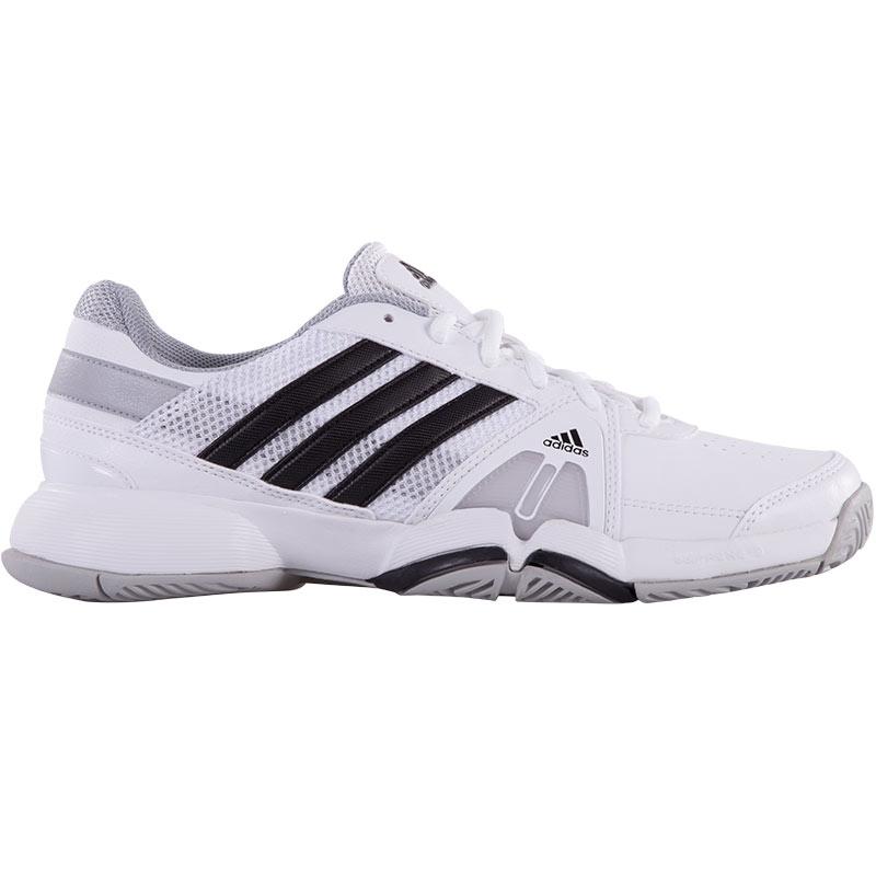 adidas barricade team 3 s tennis shoe white black onix