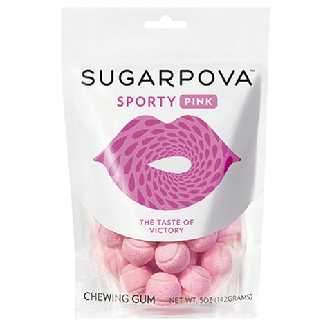 Sugarpova Sporty Pink Tennis Ball Gum