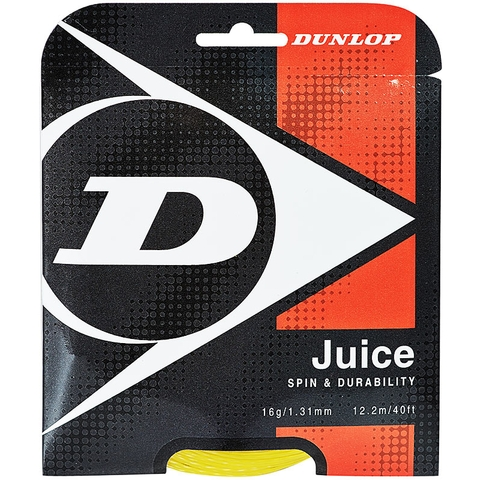 Dunlop Juice 16 Tennis String Set