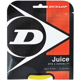 Dunlop Juice 16 Tennis String Set - Yellow