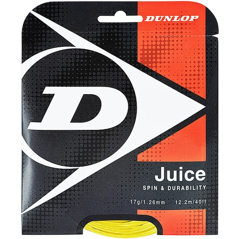 Dunlop Juice 17 Tennis String Set