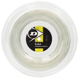 Dunlop Synthetic Gut 16 Tennis String Reel - White