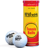 Wilson Championship Extra Duty 100 Year Edition Tennis Ball Can