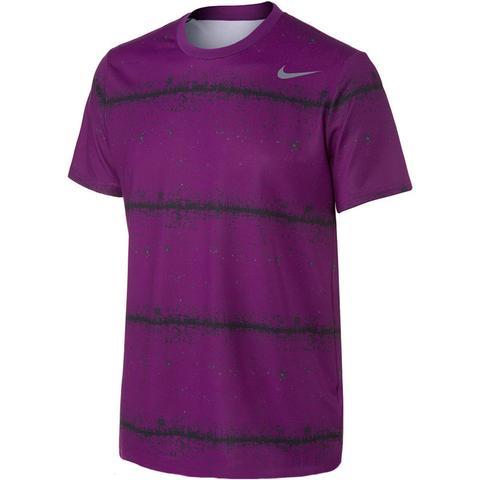 Nike Rally Sphere Stripe Men's Tennis Crew