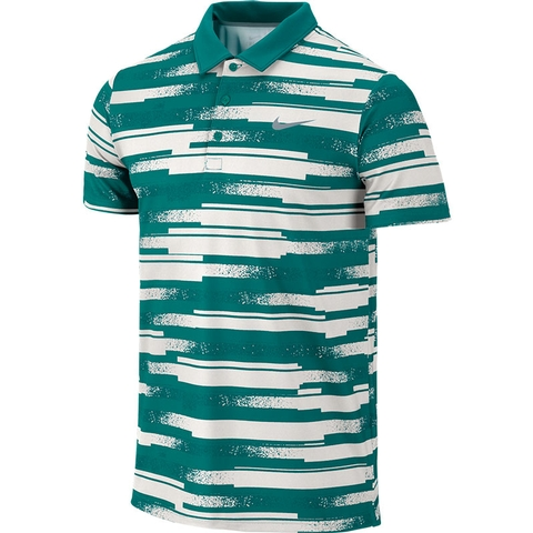 Nike Rally Sphere Stripe Men's Tennis Polo