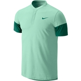 Nike Dri- Fit Touch Solid Henley Men's Tennis Polo