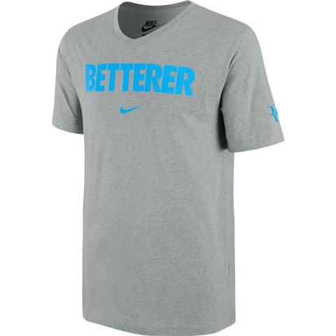 Nike Rf Betterer Vneck Men's Tennis Tee