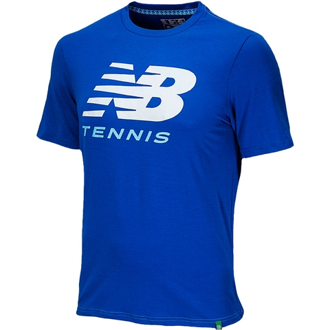 New Balance Big Brand Men's Tennis Tee