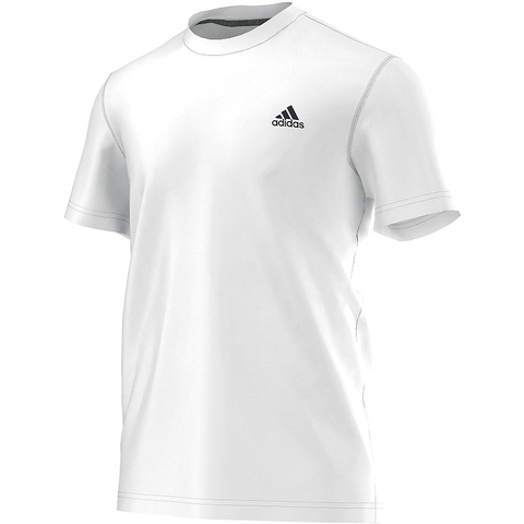 Adidas Ultimate Short- Sleeve Men's Tennis Crew