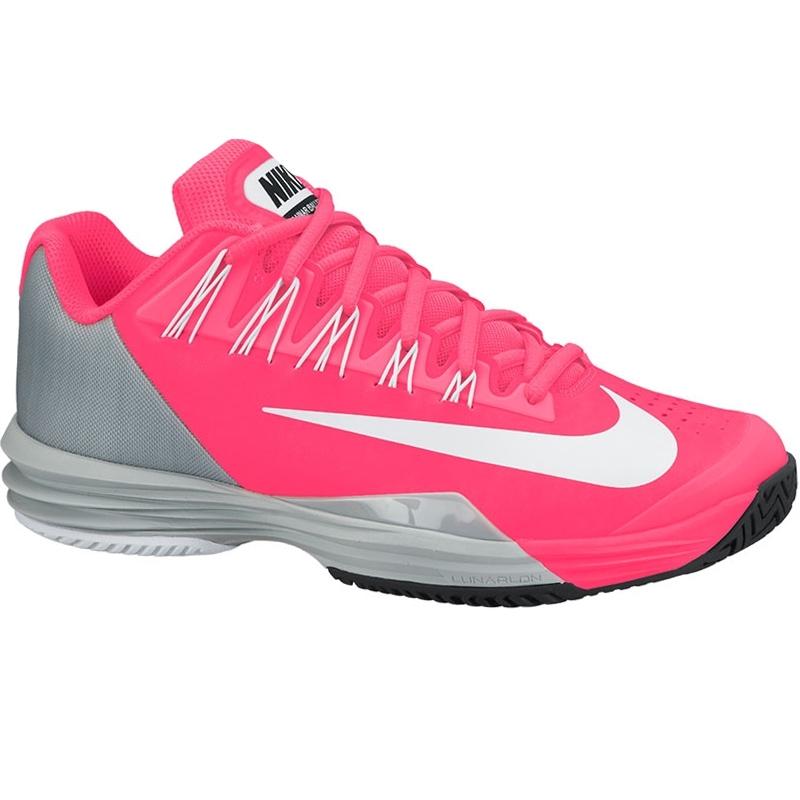 nike lunar ballistec s tennis shoe punch silver white