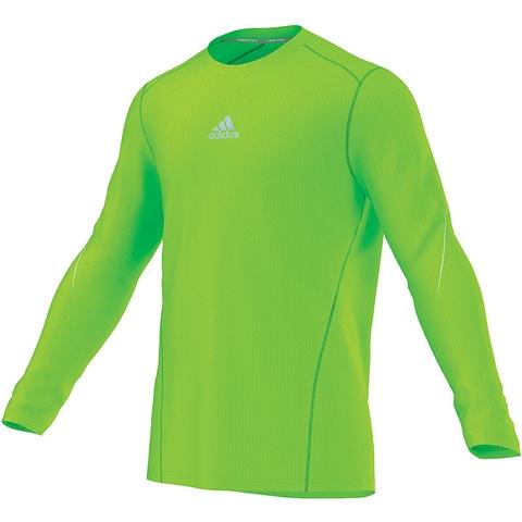 Adidas Sequencials Cc Money Long- Sleeve Men's Tennis Tee