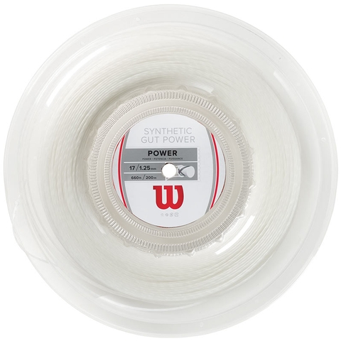 Wilson Synthetic Gut Power 17 Tennis String Reel
