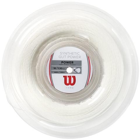 Wilson Synthetic Gut Power 16 Tennis String Reel