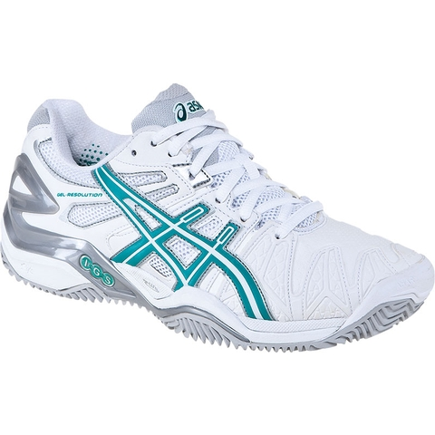 Asics Gel Resolution 5 Clay Women's Tennis Shoes