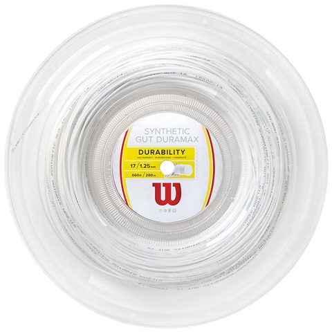 Wilson Synthetic Gut Duramax 17 Tennis String Reel