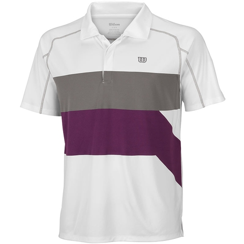 Wilson Ashland Colorband Men's Tennis Polo