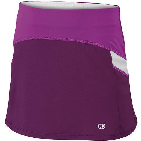 Wilson Ashland Colorblock Girl's Tennis Skirt