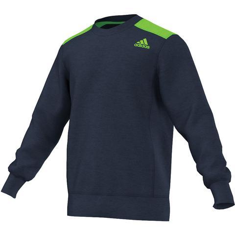 Adidas Ultimate Fleece Men's Tennis Crew