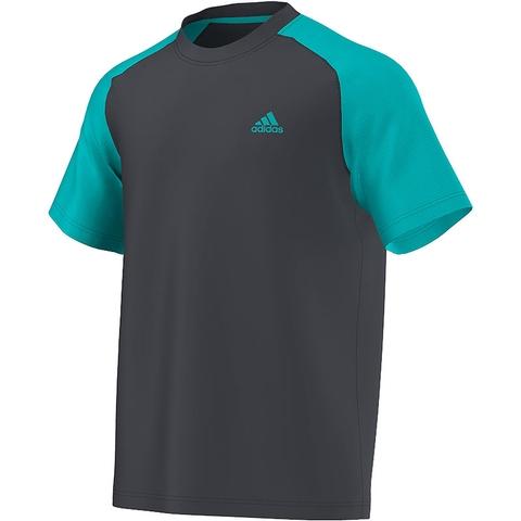Adidas Climacore Short- Sleeve Men's Tennis Tee