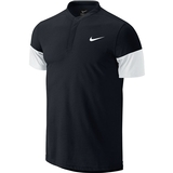 Nike Dri-Fit Touch Solid Henley Men's Tennis Polo