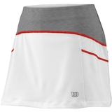 Wilson Ashland Heather 12.5 Women's Tennis Skirt