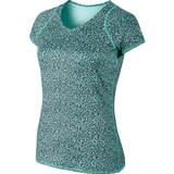 Nike Advantage Printed SS Women's Tennis Top