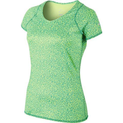 Nike Advantage Printed Ss Women's Tennis Top