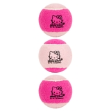 Hello Kitty 3 Pack Pressureless Tennis Balls