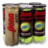 Penn Championship Gold Rush Extra Duty 6 Pack Tennis Balls