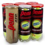 Penn Championship Gold Rush Regular Duty 6 Pack Tennis Balls